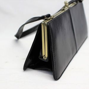14f65c4ed818 WENDY HIL Black Vintage leather bags
